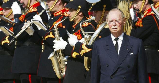Снимка: Почина великият херцог на Люксембург Жан