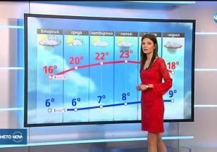 Прогноза за времето (23.04.2019 - обедна емисия)