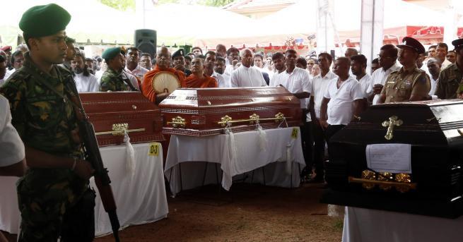 Снимка: Атентатите в Шри Ланка – отмъщение за Нова Зеландия