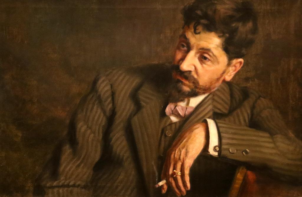 Владимир Димитров-Майстора Портрет на Никола Чехларов 1910г.