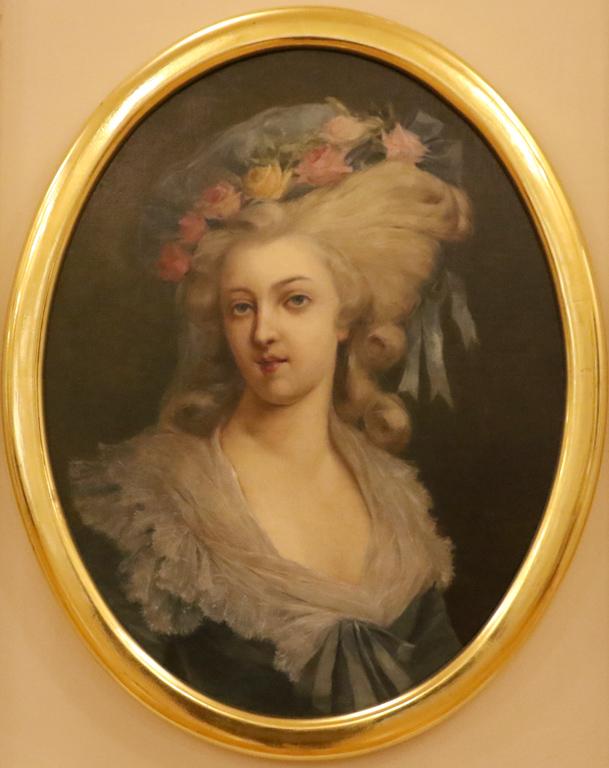 Неизвестен копист Мария-Тереза-Луиза Савойска, принцеса Дьо Ламбал 1892г.