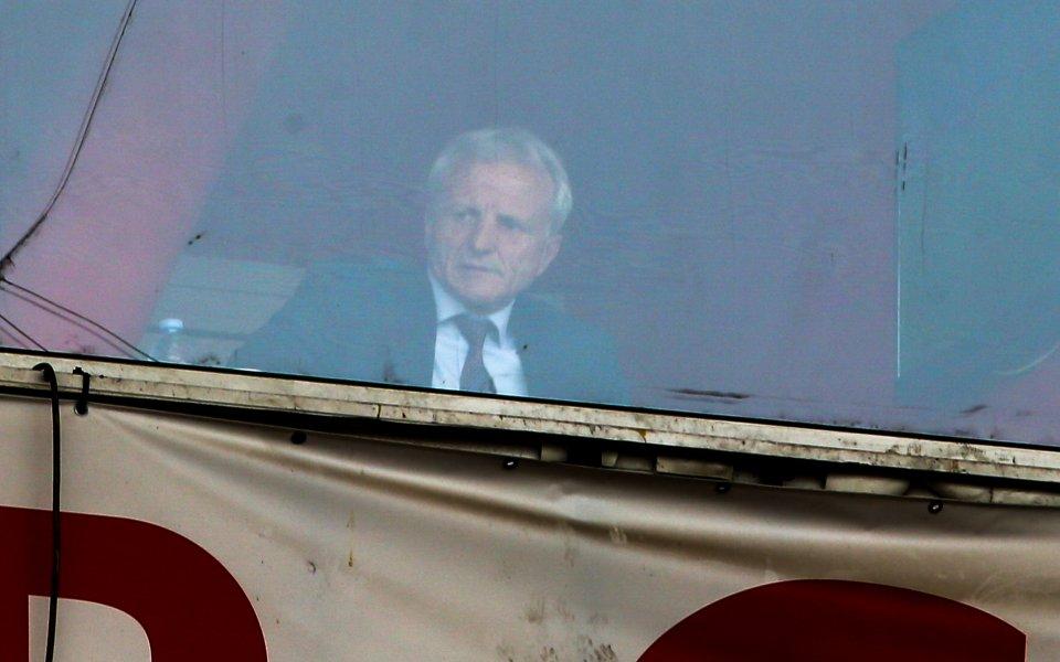 Благодетелят на ЦСКА Гриша Ганчев е заел място в ложите