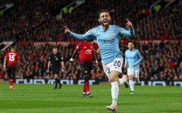 НА ЖИВО: Сити поведе на Юнайтед в шеметно дерби