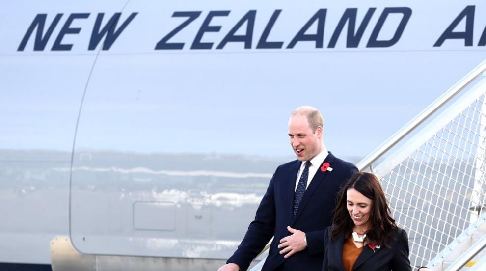 Принц Уилям посети Нова Зеландия по случай Деня Анзак (СНИМКИ)