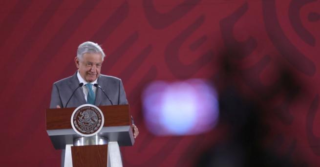 Президентът на Мексико Андрес Мануел Лопес Обрадор обяви, че строителството