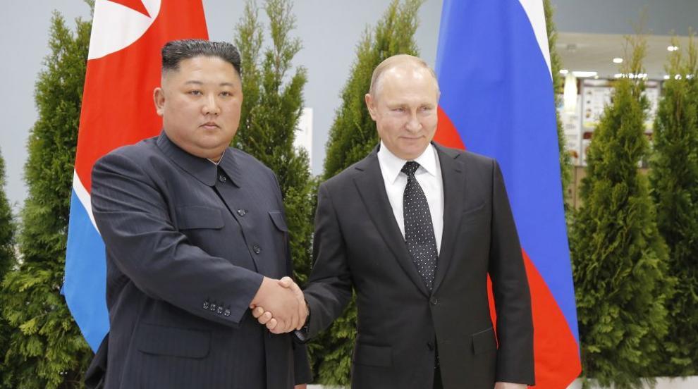 Започна срещата на върха между лидерите на Русия и Северна Корея