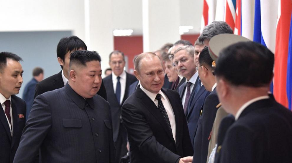 Приключи срещата на четири очи между Путин и Ким