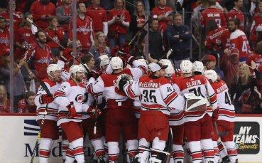 Уникално: Победителите от всички дивизии в НХЛ аут в първия кръг на плейофите