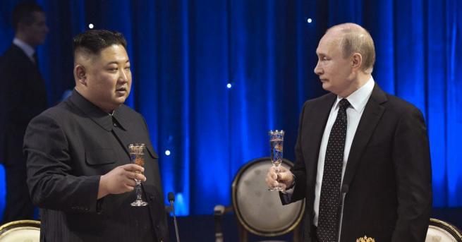 Преговорите между руския президент Владимир Путин и неговата делегация и