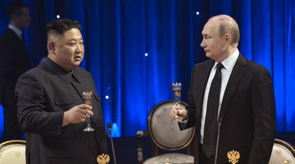 Какво обсъдиха Путин и Ким? (ВИДЕО/СНИМКИ)