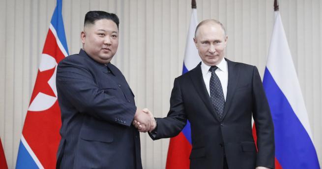 Свят Знаците за срещата Ким-Путин и какви подаръци си направиха