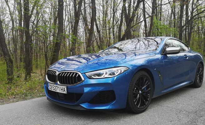 BMW М850i Coupe предлага рога на изобилието (тест драйв)