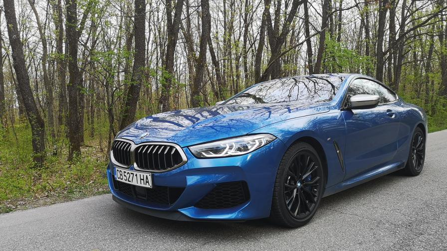 <p>BMW М850i предлага рога на изобилието (тест драйв)</p>