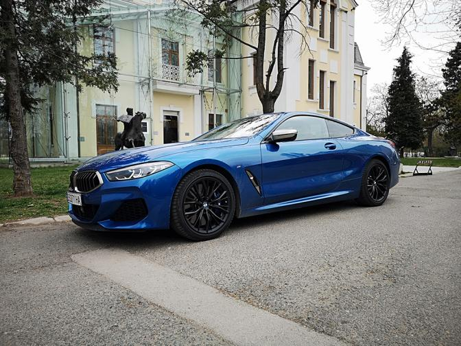 BMW M850i Coupe галерия