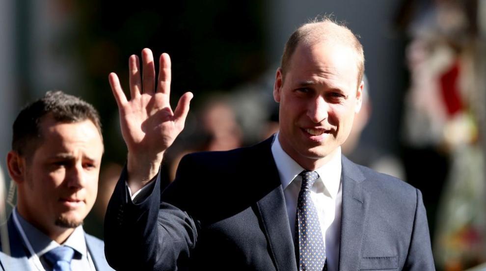 Принц Уилям поздрави оцелели от нападението срещу джамии в Крайстчърч
