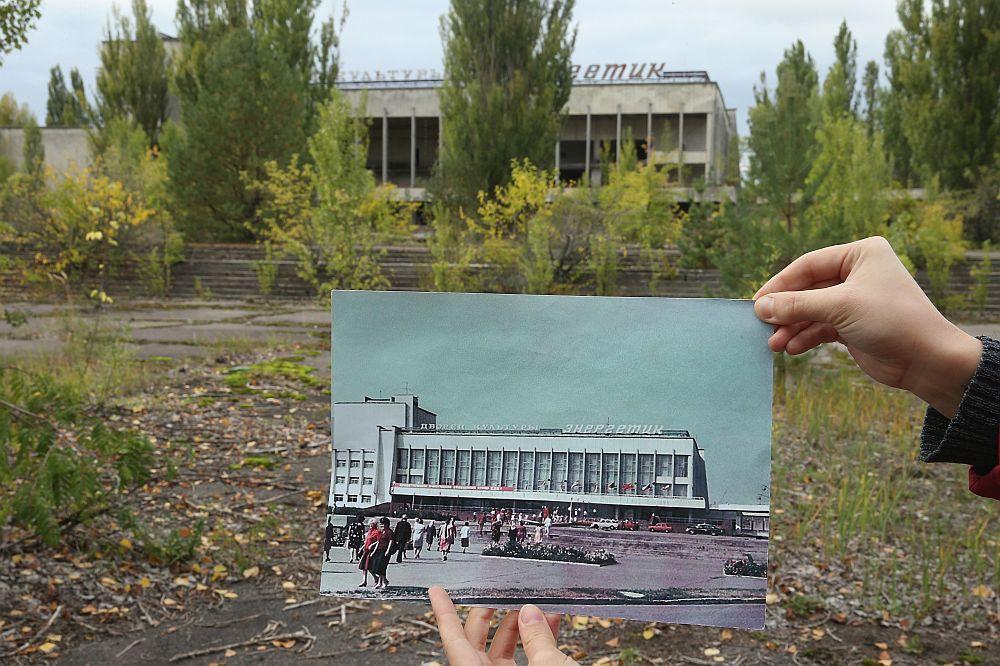 """Призрачният град Припят, построен през 70-те години на миналия век, като модел на типичен съветски град, за да настани тогава работниците от атомната електроцентрала """"Чернобил"""" и техните семейства, сега е изоставен и страховит. Носи спомена. Днес градът е своеобразен музей на последните години на Съветската епоха. С напълно изоставени жилищни блокове (от които 4 блока никога не са използвани), плувни басейни и болници, в които всичко е непокътнато, от вестници до детски играчки и дрехи. Припят и околните райони няма да бъдат пригодни за обитаване от хора през следващите няколко века. Според учените ще са нужни 900 години за достатъчното разпадане на най-опасните радиоактивни елементи."""