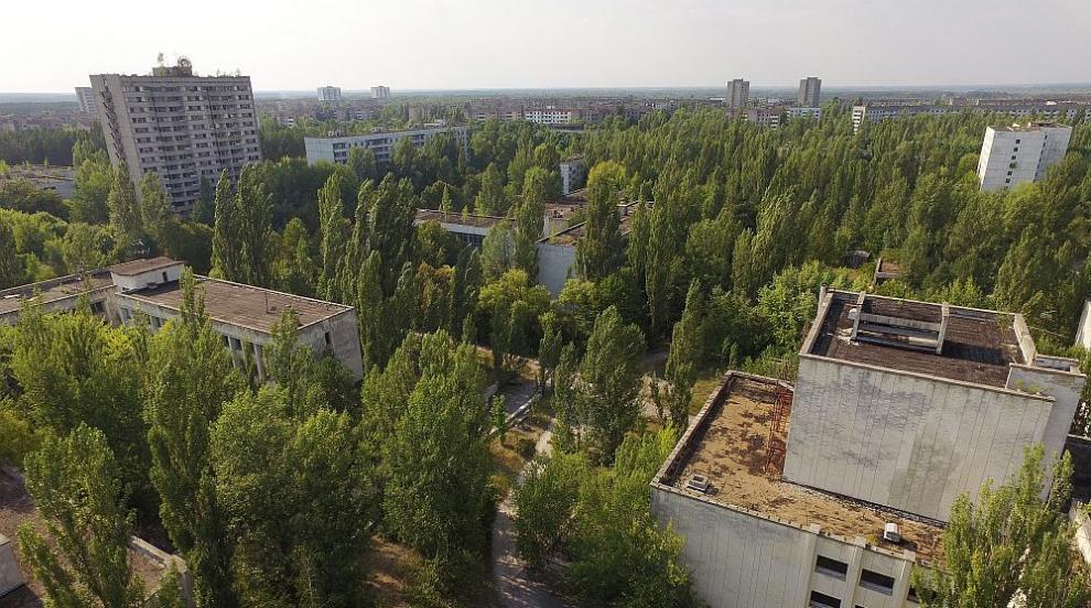 """Вижте как изглежда """"Чернобил"""" 33 години след взрива (ВИДЕО)"""