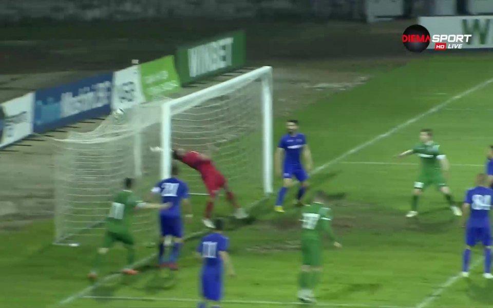 Голът на Георги Вълчев срещу Етър