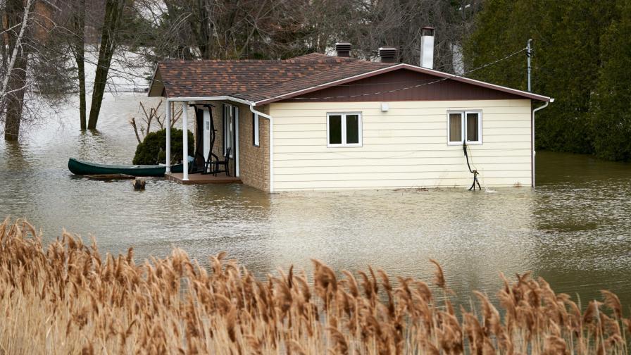 Наводненията в Канада