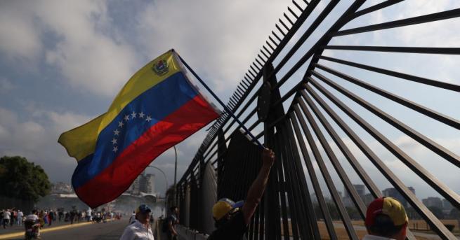 Лидерът на венецуелската опозиция Хуан Гуайдо, току-що преизбран за председател