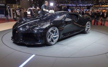 Роналдо плати 9 млн. долара за поредното уникално Bugatti