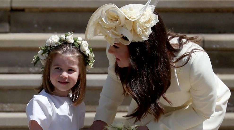 Принцеса Шарлот вече е голяма - днес навършва 4 години (СНИМКИ)