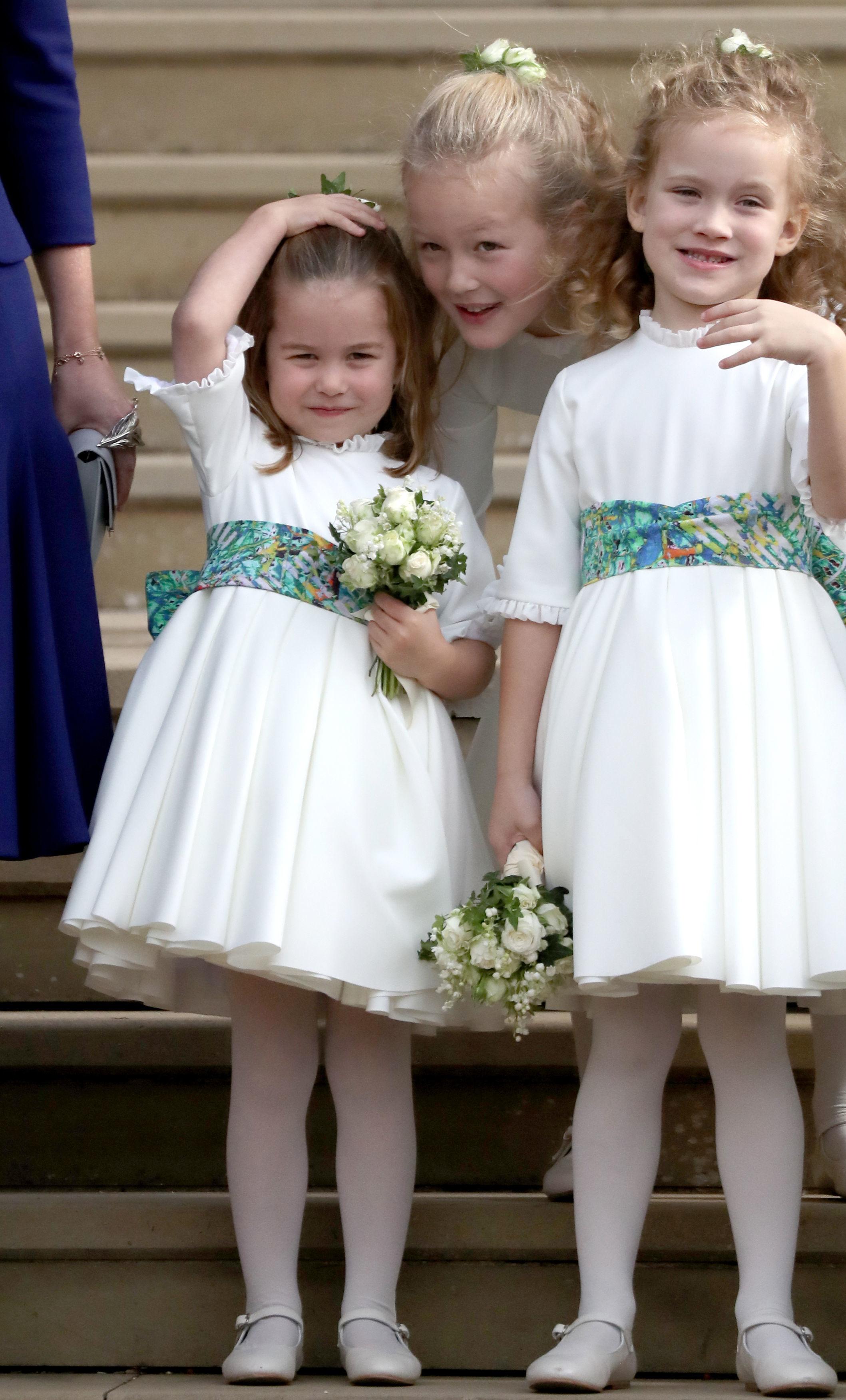 Шарлот има и по-малък брат - принц Луи, който на 23 април навърши 1 годинка.