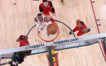 Денвър с десета поредна победа над Минесота в НБА