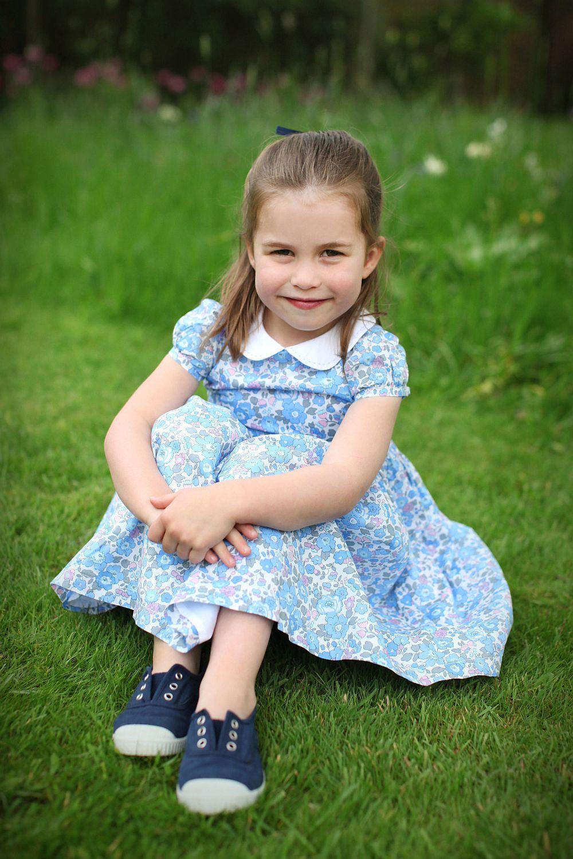 Принцеса Шарлот през април 2019 г.