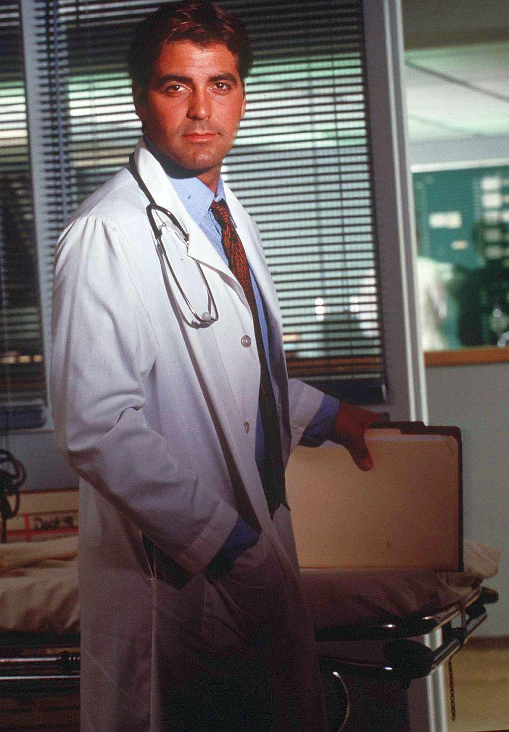 Джордж Клуни през 1996 година