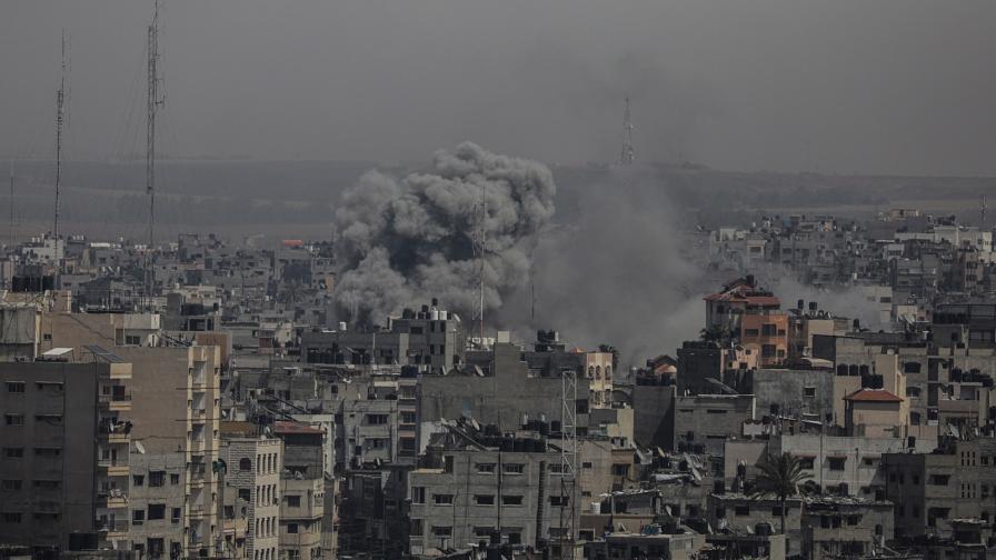 """""""Масирани удари"""" от Израел към Газа заради палестински ракети"""