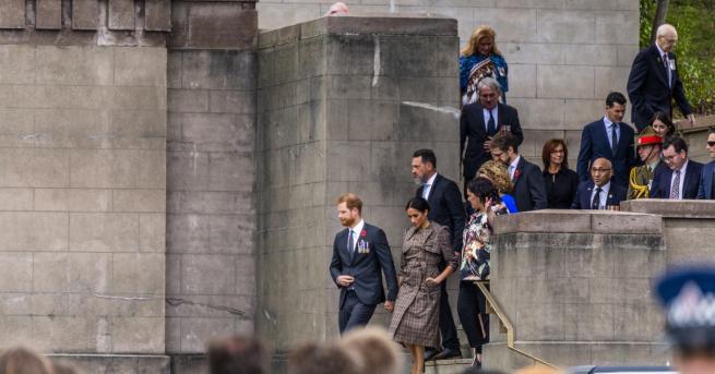 Поздравленията към принц Хари и съпругата му Меган за раждането