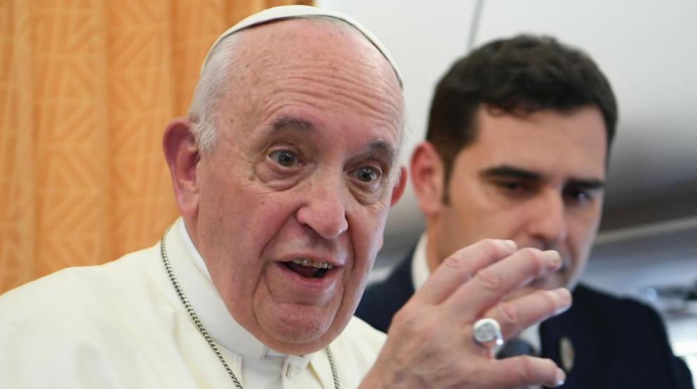 Папа Франциск пристига на посещение в Румъния