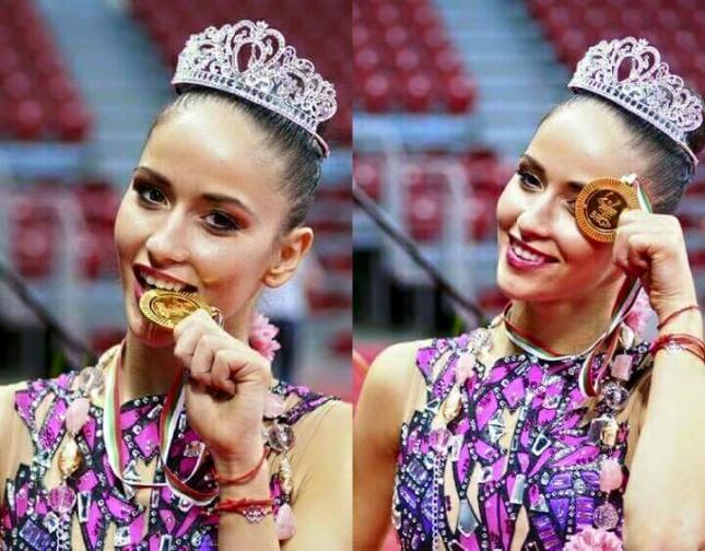 Невяна Владинова художесествена гимнастика