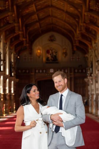 Херцогът на Съсекс тогава обяви, че със съпругата му ще покажат сина си пред света след два дни.