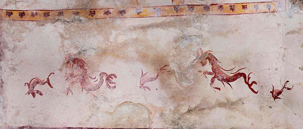 След смъртта на Нерон през 68 г. недостроеният дворец е разрушен. Впоследствие на тази територия са построени други обществени здания сред които и Колизеумът.