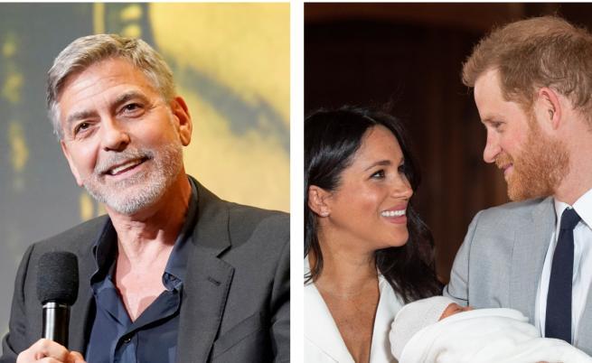 Джордж Клуни не иска да е кръстник на кралското бебе