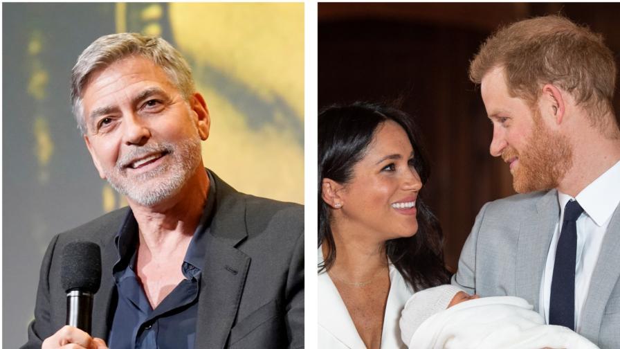 <p>Джордж Клуни <strong>не иска да е кръстник</strong> на кралското бебе</p>