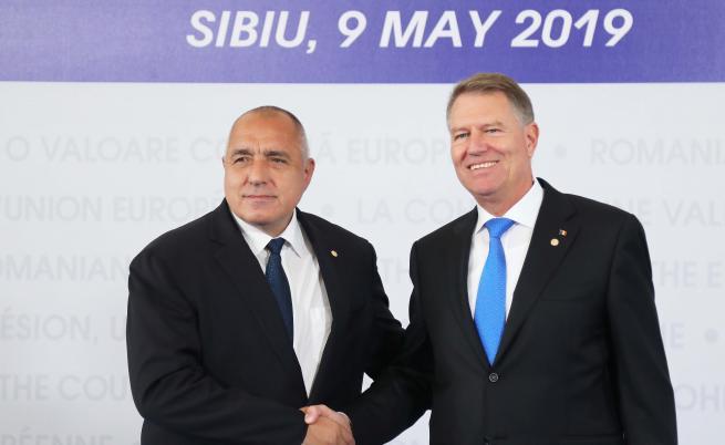 Борисов в Сибиу: България очаква положително решение за еврозоната