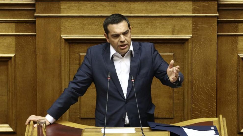 Правителството на Гърция оцеля при вот на доверие