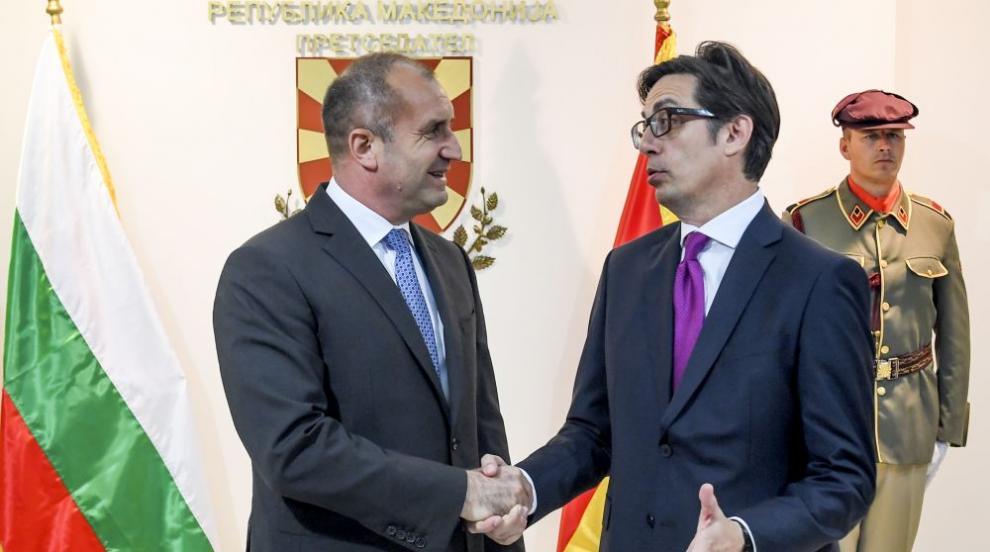 Пендаровски прие първо българския президент след встъпването си в длъжност