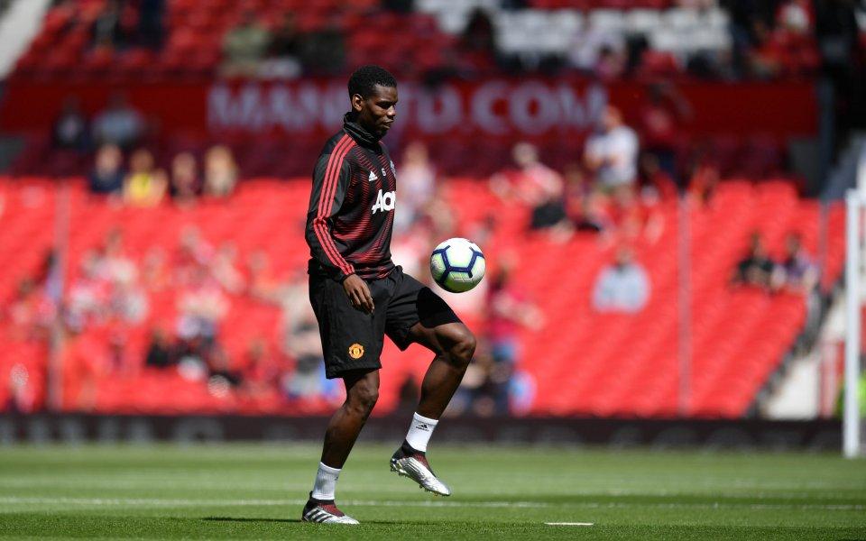 Звездата на Манчестър Юнайтед Пол Погба се опита да се