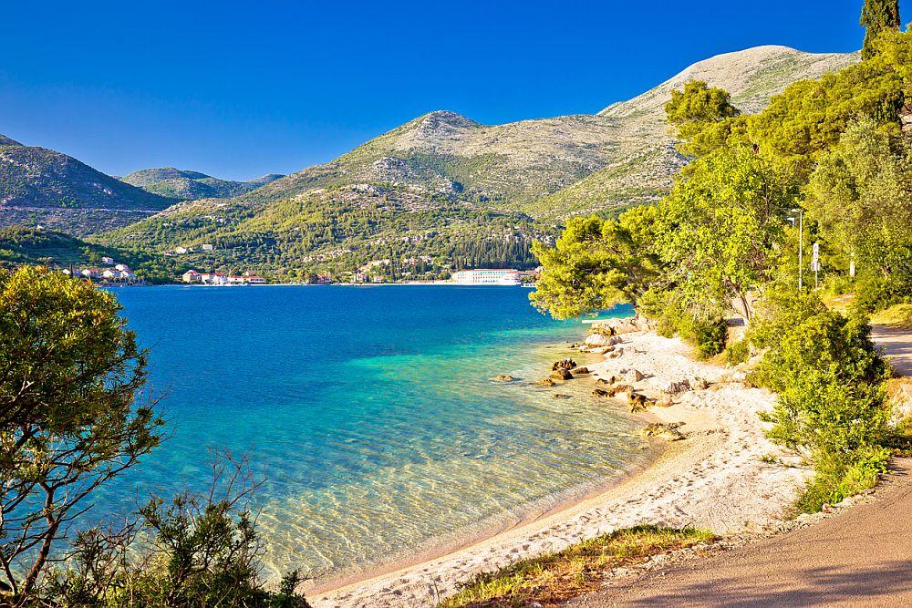 Най-красивият плаж в Европа се намира в сърцето на региона Конавле