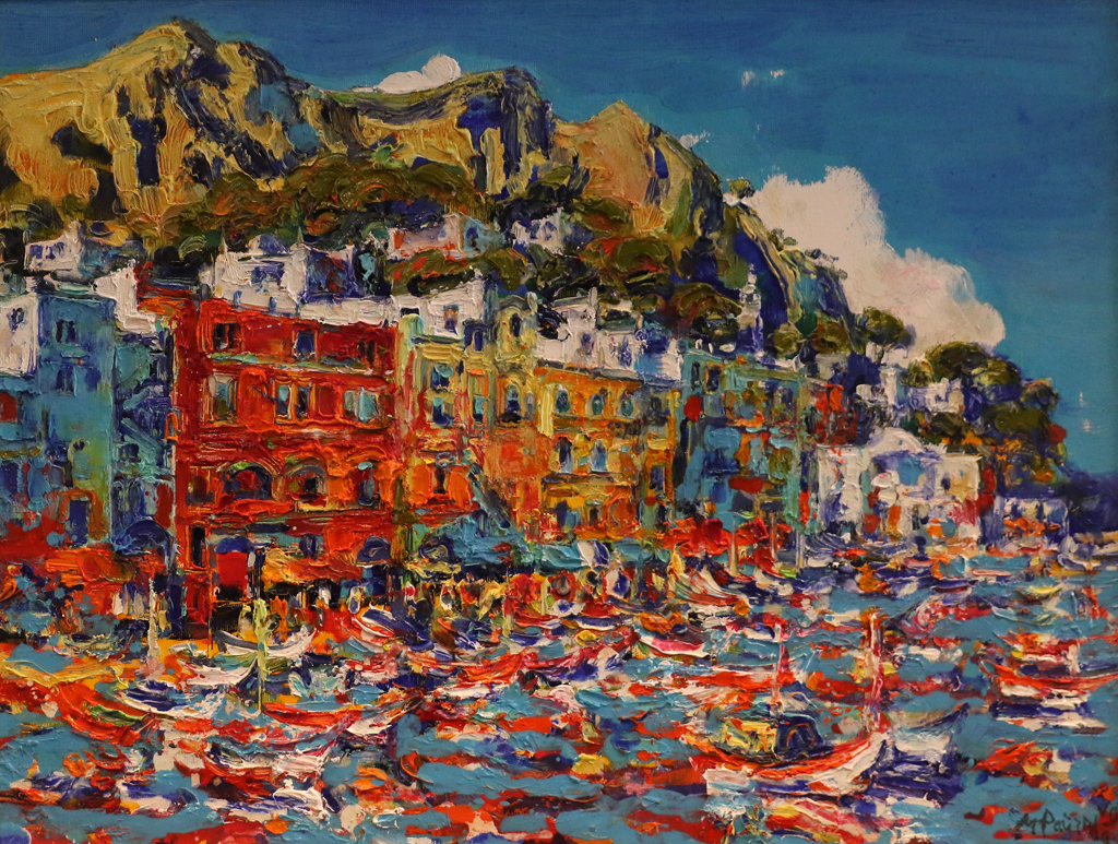 Капри - пристанището