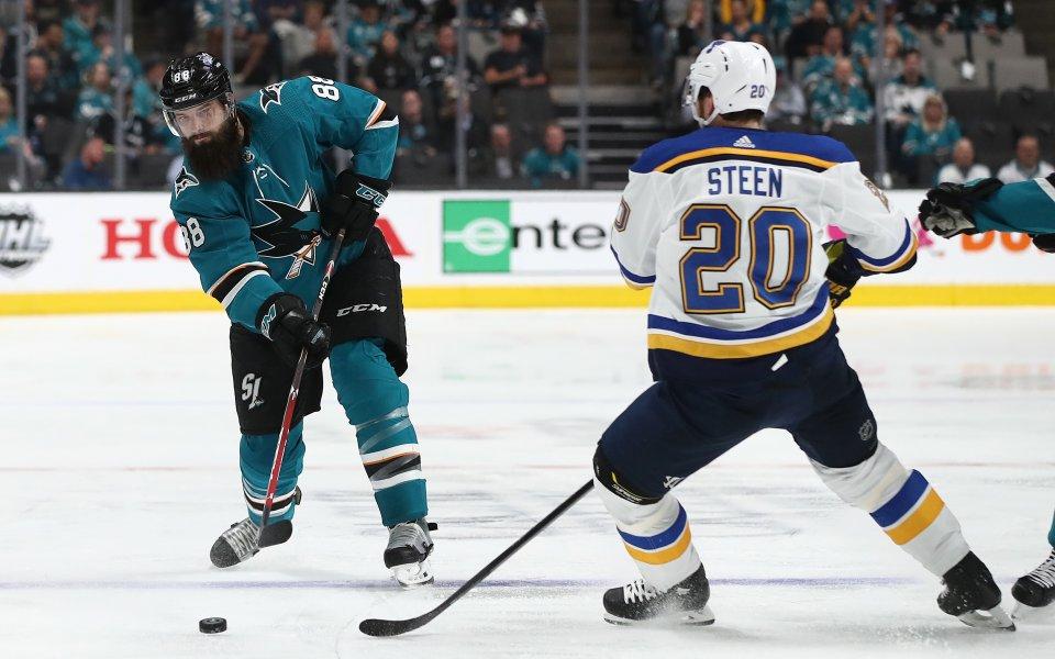 Сейнт Луис изравни серията със Сан Хосе в НХЛ