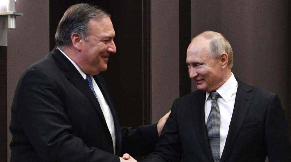 Путин на среща с Помпейо: Бихме желали да възстановим отношенията си