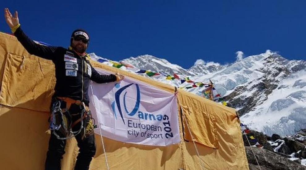 Атанас Скатов покори третият по височина връх на планетата