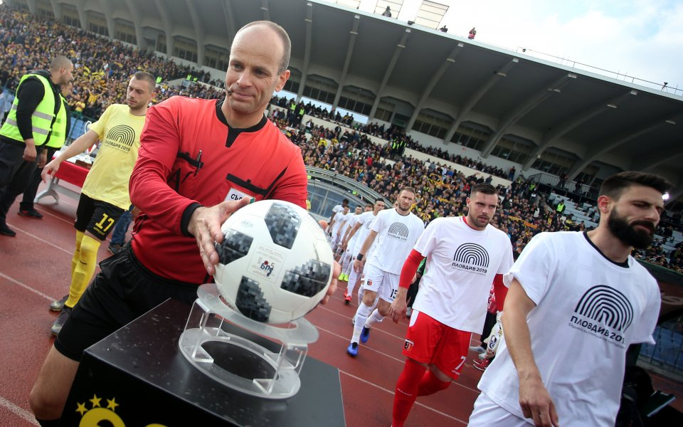 Николай Йорданов ще свири Левски – Черно море за купата