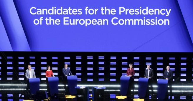 Водещите кандидати за следващ председател на Европейската комисия участваха в