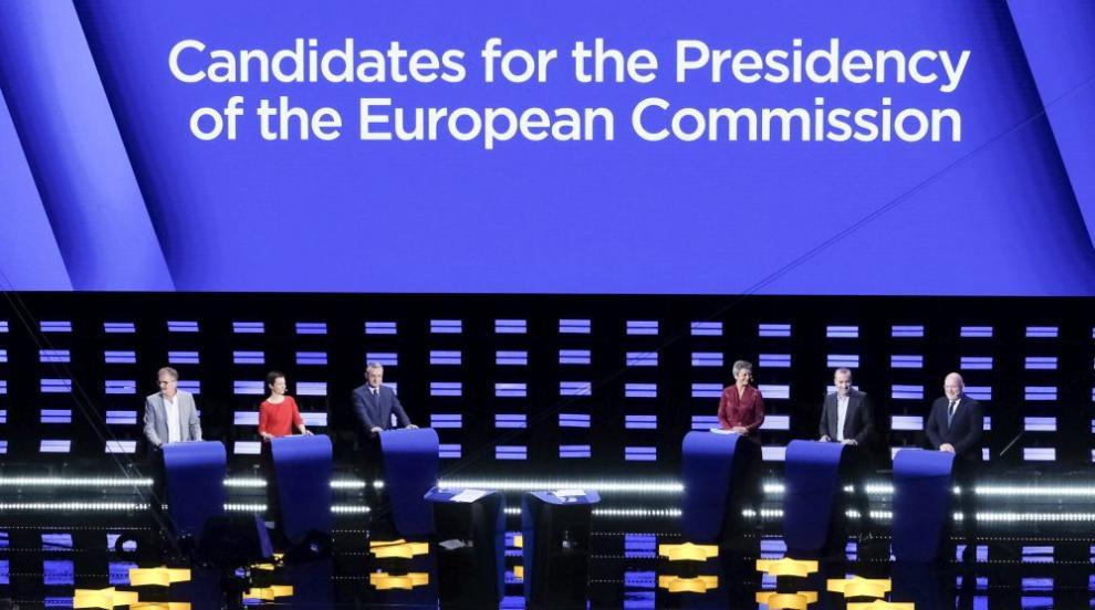 Кандидати за председател на ЕК в първи телевизонен дебат (СНИМКИ)